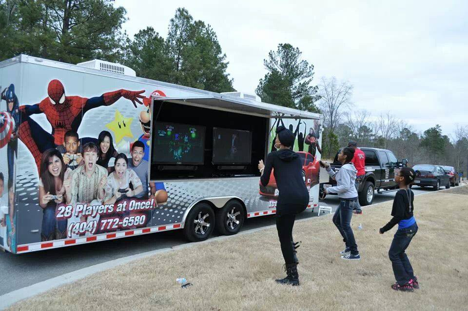 Metro Atlanta Mobile Video Game Truck Amp Laser Tag Birthday